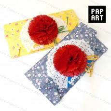 [PA-468] 카네이션 편지 봉투 (10개 set 상품)