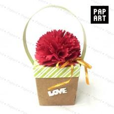 [PA-467] 카네이션 선물 상자 (10개 이상주문가능)
